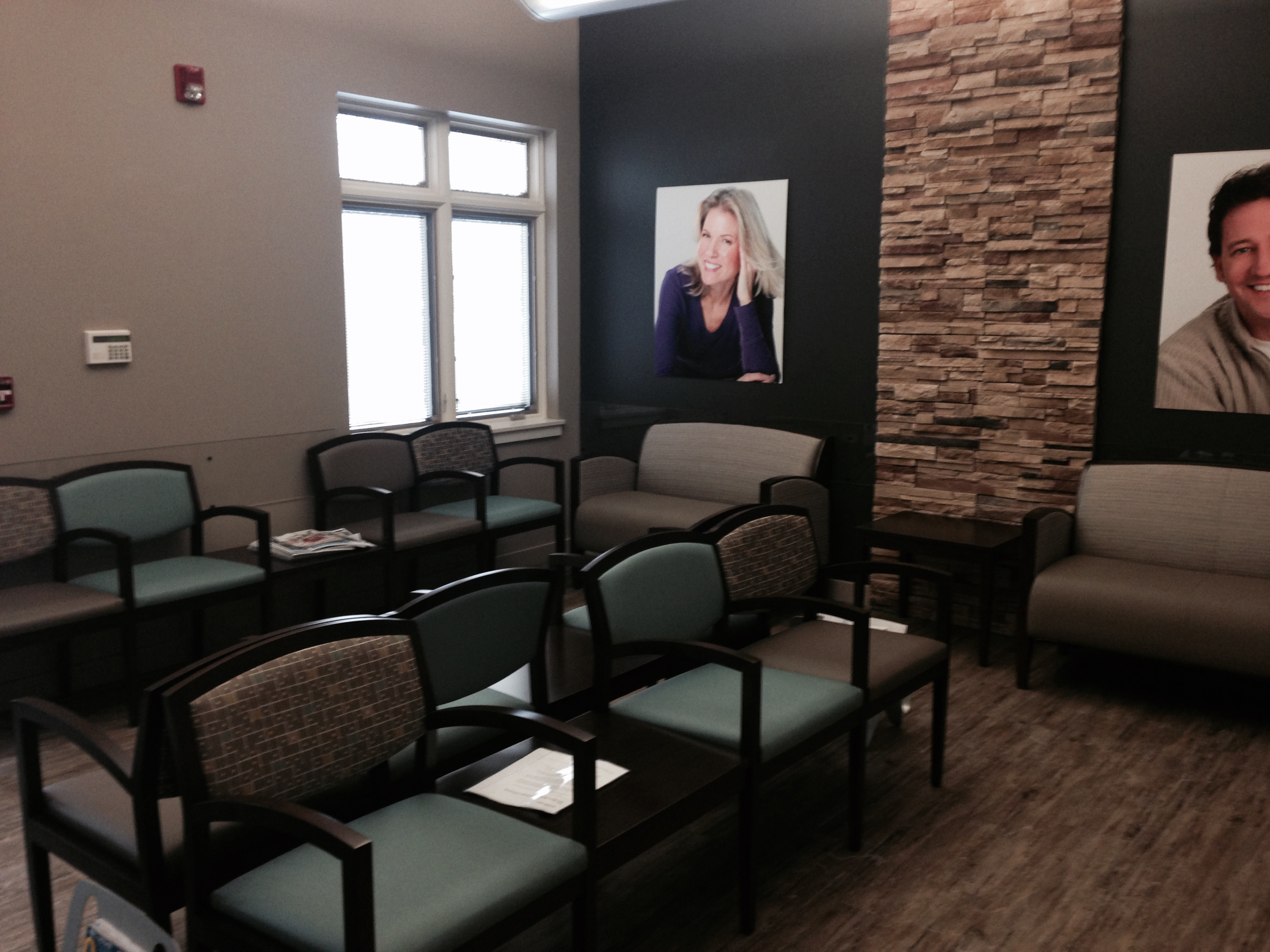 Frankel Dentistry Reception Area
