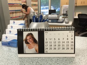 Toothbrush Calender